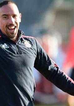 Ribery trở lại tập luyện sau 3 tháng dưỡng thương