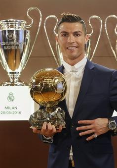 Cristiano Ronaldo giành Quả Bóng Vàng 2016