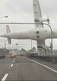 Đài Loan công bố nguyên nhân rơi máy bay TransAsia năm 2014
