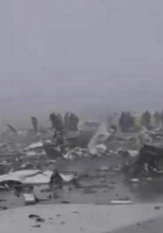 Các giả thuyết về nguyên nhân vụ tai nạn máy bay FlyDubai
