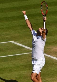 """Wimbledon 2016: Federer không tin có thể """"thoát chết"""" ở tứ kết"""