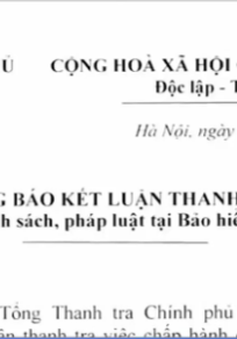 Phát hiện hàng loạt sai phạm tại Bảo hiểm tiền gửi Việt Nam
