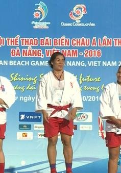 Nguyễn Thị Như Ý giành HCV đầu tiên cho Sambo Việt Nam