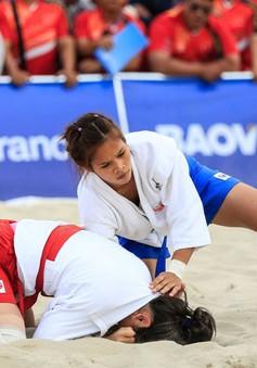 ĐT Sambo Việt Nam giành 2 HCB trong ngày thi đấu đầu tiên