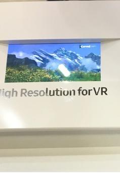 Samsung trình làng màn hình siêu nét 4K dành cho kính thực tế ảo