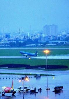 Đã xác định được nguyên nhân gây ngập tại sân bay Tân Sơn Nhất