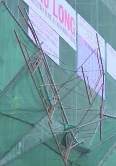 Sập giàn giáo công trình 20 tầng tại Nha Trang