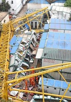 Sập cần cẩu tại Trung Quốc, 12 người thiệt mạng