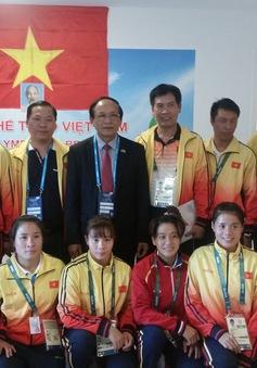 Olympic Rio 2016: Đại sứ Việt Nam tại Brazil thăm Đoàn Thể thao Việt Nam