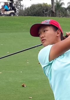 Nữ golf thủ số một Việt Nam đón Tết xa nhà
