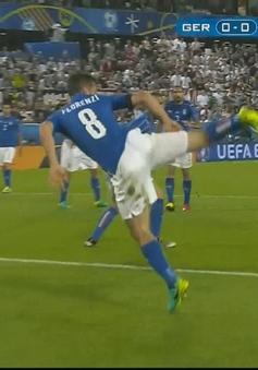 VIDEO EURO 2016: Florenzi bay người đẹp mắt, cứu thua ngoạn mục cho ĐT Italia