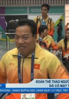 Đoàn thể thao người khuyết tật Việt Nam đã có mặt tại Rio de Janeiro