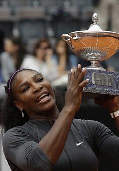 Serena có danh hiệu đầu tiên trong năm 2016 ở Italian Open