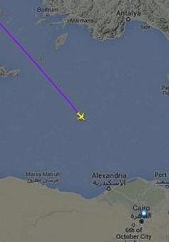 Hy Lạp khẳng định máy bay Ai Cập rơi trên Địa Trung Hải