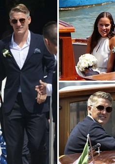 Schweinsteiger và Ivanovic tổ chức đám cưới siêu lãng mạn tại Venice