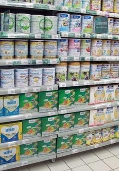 Trung Quốc thắt chặt quản lý sữa công thức trẻ em