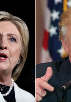 Bà Hillary Clinton và tỷ phú Donald Trump chiếm thế thượng phong