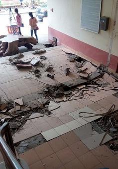 Hà Nội: Khắc phục sự cố sụt lún sàn nhà chung cư N5 khu đô thị Đồng Tàu