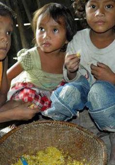Trẻ em suy dinh dưỡng - hệ lụy từ nghèo đói