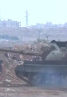 Lực lượng phiến quân Syria sử dụng khí độc ở thành phố Aleppo