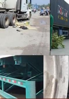 Hiểm họa tai nạn từ xe container tại Bình Dương
