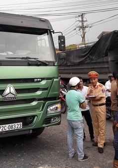 Tài xế xe tải bị đánh bất tỉnh và cướp đồ sau vụ TNGT