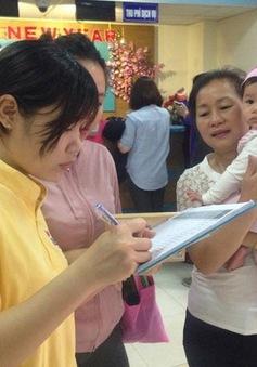 Hà Nội tổ chức đăng ký 3.500 liều vaccine Pentaxim đợt 6