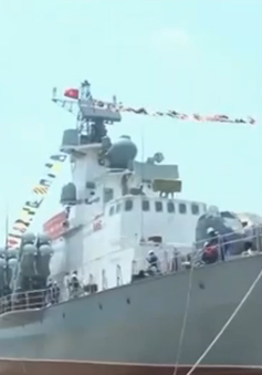 Hạ thủy thành công cặp tàu tên lửa tấn công nhanh M5, M6