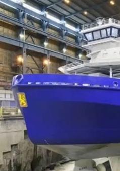 Polaris - Tàu phá băng sử dụng khí tự nhiên hoá lỏng đầu tiên