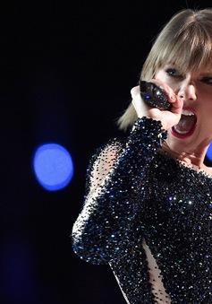 Không có album nào, Taylor Swift vẫn là nữ ca sĩ kiếm tiền khủng nhất năm 2016