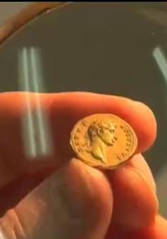 Phát hiện đồng tiền vàng cổ 2.000 năm tuổi