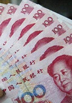 Trung Quốc điều chỉnh tỷ giá xuống mức thấp nhất trong 5 năm