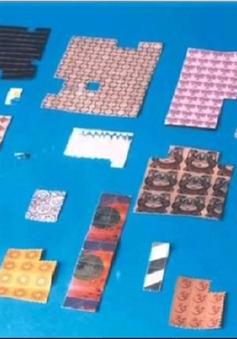 CẢNH BÁO: Tem giấy chứa chất gây nghiện tạo ảo giác