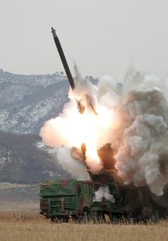 Triều Tiên thử nghiệm hệ thống tên lửa phòng không mới
