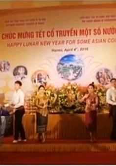Giao lưu hữu nghị mừng Tết cổ truyền một số nước châu Á