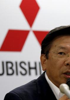 Chủ tịch hãng xe Mitsubishi tuyên bố từ chức