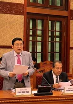 Ban chỉ đạo Trung ương về Phòng chống tham nhũng làm việc tại Tây Ninh