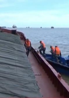 Bắt giữ tàu chở 2.000 tấn than bất hợp pháp