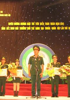 Lễ tuyên dương gương mặt trẻ tiêu biểu toàn quân năm 2015