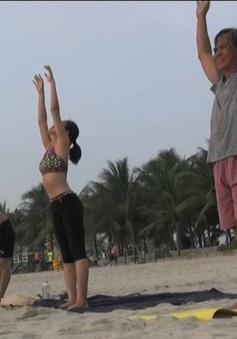 Tập thể dục buổi sáng - Nét đẹp của người Đà Nẵng