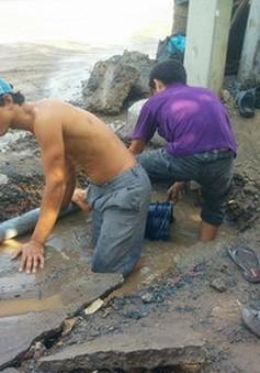 Di dời đường ống, 20 phường tại TP.HCM sẽ bị thiếu nước