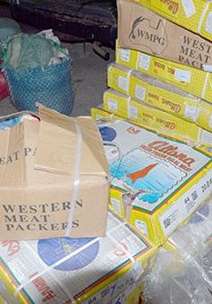 Bình Thuận phát hiện 300kg thịt trâu bốc mùi hôi thối