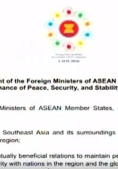 Hội nghị AMM-49 ra thông cáo chung