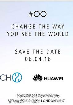 Huawei gửi thư mời tham dự sự kiện ngày 6/4