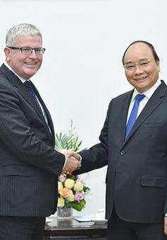 Thủ tướng tiếp Đại sứ Australia, Pháp