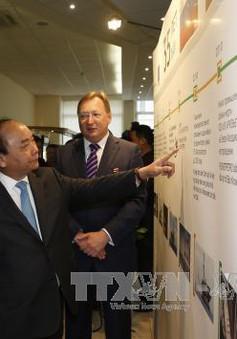 Thủ tướng thăm Tập đoàn dầu khí Zarubezhneft
