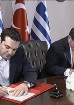 Thổ Nhĩ Kỳ - Hy Lạp hợp tác đối phó khủng hoảng di cư