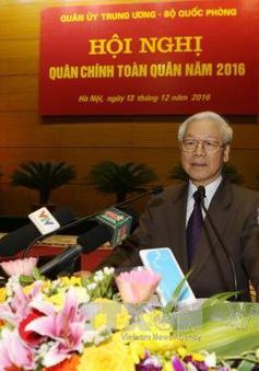 Tổng Bí thư Nguyễn Phú Trọng: Tiếp tục xây dựng Quân đội trong sạch, vững mạnh toàn diện