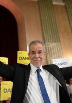 Ông Bellen đắc cử Tổng thống Áo