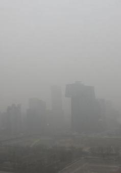 Bắc Kinh chìm trong sương mù đúng dịp Quốc khánh